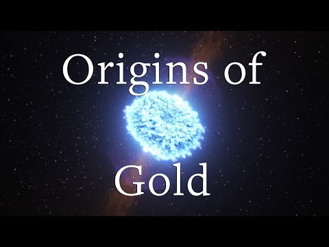 The Origins of universe's gold discovered in neutron star mergers
