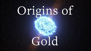 Origins of universe's gold discovered in neutron star mergers thumbnail