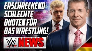 Schlechte Quoten fürs Wrestling, All Elite Wrestling überrascht Fans  | Wrestling/WWE NEWS 94/2019