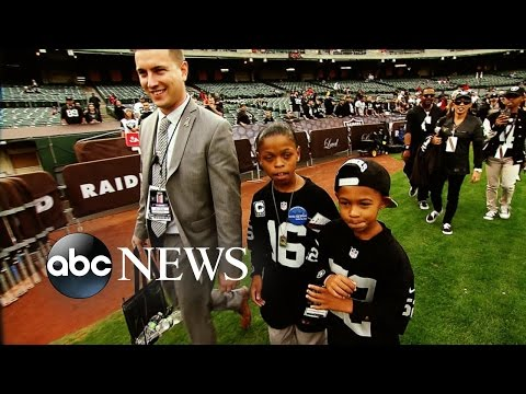 12-Year-Old Boy With Heart Condition Gets His NFL Wish
