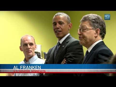 Behind The Scenes:Obama In Minnesota