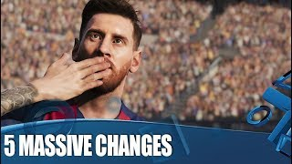 eFootball PES 2020 - 5 Massive Changes You Need To Know About