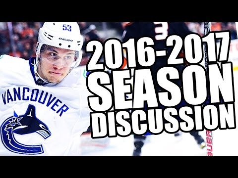The 2016-2017 Vancouver Canucks Season (Discussion)