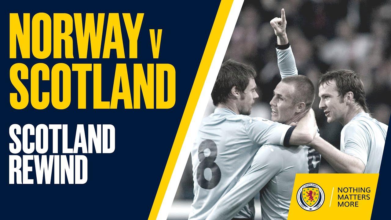 Scotland Rewind | Norway v Scotland 2005 | Full Match