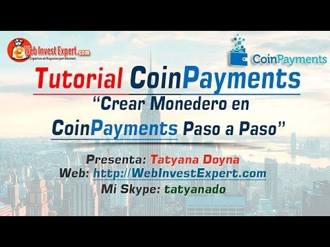 CoinPayments-Crear Monedero Bitcoins, Dogecoins, etc en CoinPaymients – más 50 Criptomonedas