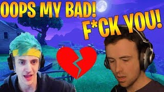NINJA TELLS DRLUPO'S SON HIS DAD IS DEAD! *NOT CLICKBAIT* (Fortnite Stream Highlights)