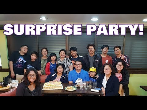 SURPRISE BIRTHDAY PARTY FOR MY MOM! *she didn't expect this at all*