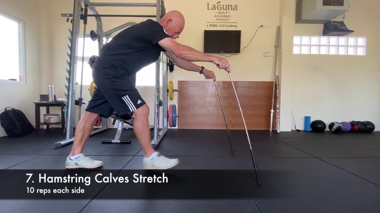 Laguna Golf Tips   Full body Stretching