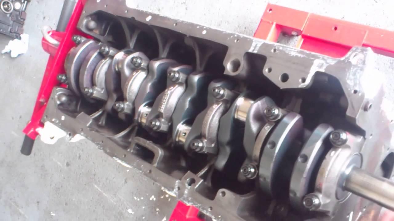 M20B25 E30 325 STROKER 2 8 using M51D25 Tds CRANK