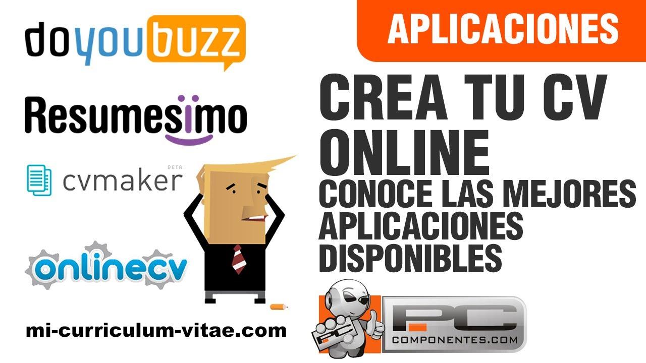 Herramientas Online para realizar tu Curriculum Vitae - YouTube