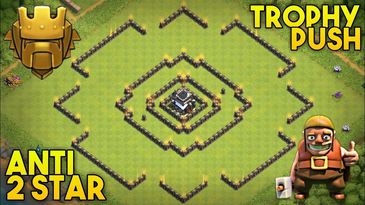 New Best Th9 Trophy Pushing Base Layout 2019