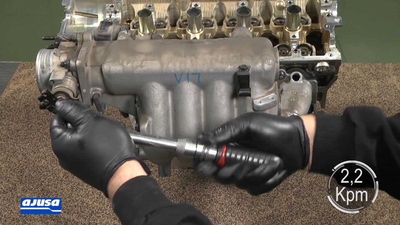 2002 hyundai elantra intake manifold gasket replacement