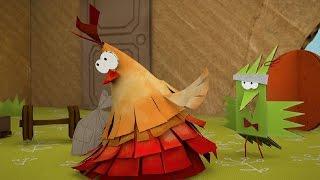Мультфильм про оригами - Куриная память - новая серия 35