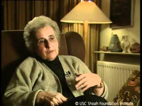 Jewish Survivor Anita Lasker-Wallfisch Testimony