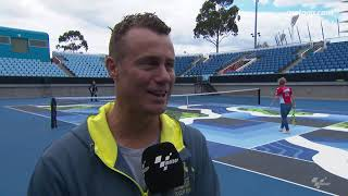 Lleyton Hewitt talks about MotoGP™