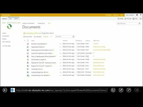 SharePoint tutorial:  Creating a dynamic view | lynda.com