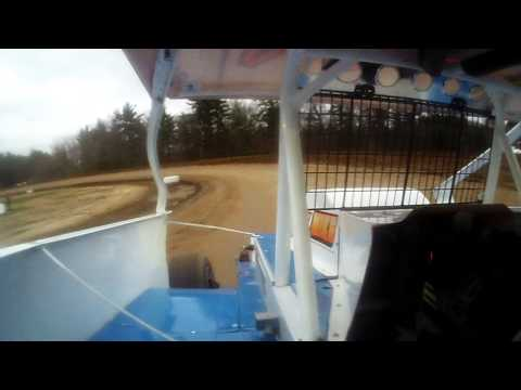 Modified Heat Race With Rich Ronca at Albany-Saratoga Speedway 5/9/14