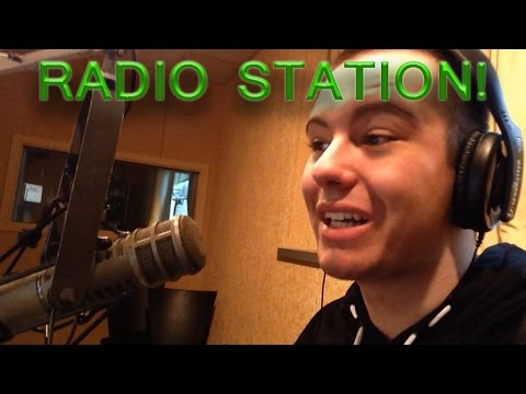 RADIO STATION TOUR!
