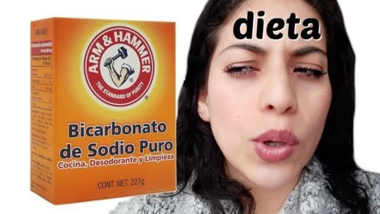 bicarbonato de sodio para adelgazar abdomen