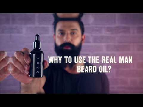The Real Man Beard Oil Dark Classic Youtube