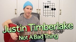 justin-timberlake-not-a-bad-thing-acoustic-cover-tutorial