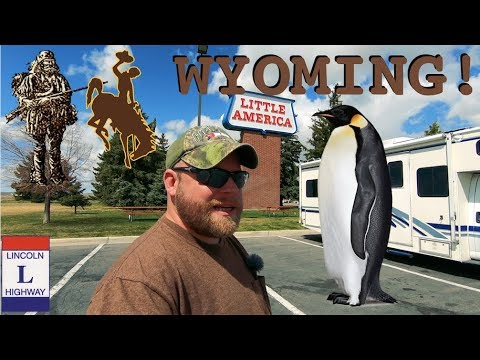 Into Wyoming ~ Mountain Men, Trading, & Penguins