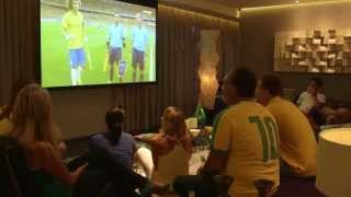 Brazil Vs. Germany with Lucien in Lagoa, Rio - All Eyes on Brazil