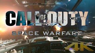 Space Warfare - All Space Combat Scenes from Call of Duty Infinite Warfare