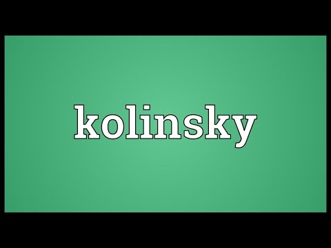 Header of kolinsky