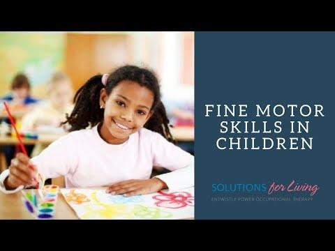 OT-V Episode 14: Fine Motor Skills in Children