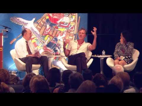 Michael Cunningham & Yuko Shimizu: 2016 National Book Festival
