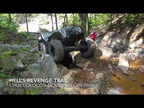 Matt Graham almost laying the SpyderTJ on its door on Hell's Revenge at Choccolocco!