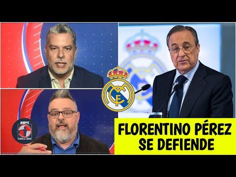 REAL MADRID Florentino Pérez RESPONDE por los audios contra Iker Casillas y Raúl | Fuera de Juego