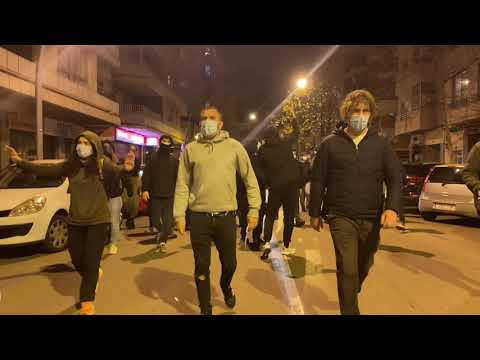 Más de 150 personas se manifiestan para exigir la libertad de #PabloHasel