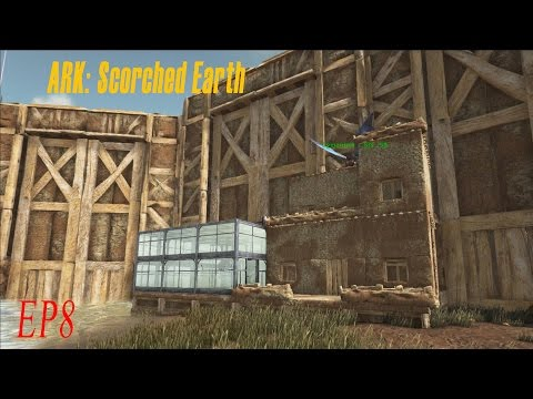 ARK: Scorched Earth / sels + tame de Rex  / EP8