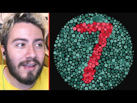 7 GÖRÜYORSAN RENK KÖRÜ OLABİLİRSİN ! (Renk Körlüğü Testi)