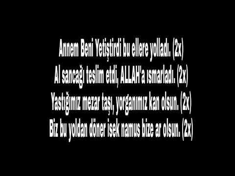 Alay Marşı - Sözleri