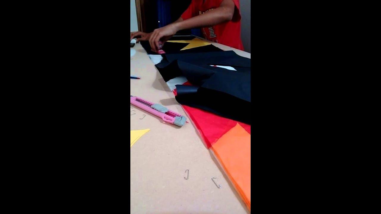 Como hacer y rayar un globo riscado