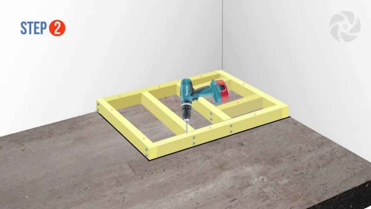 Installing a Raised Wetroom Base on a Concrete Floor ...
