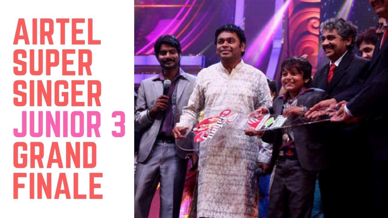 Vijay TV's Super Singer (TV series) - Wikipedia