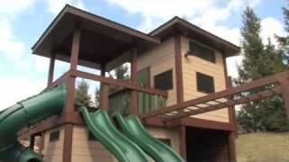 Swing Sets, Play Structures, Tree Houses - Custom Installations Or Diy