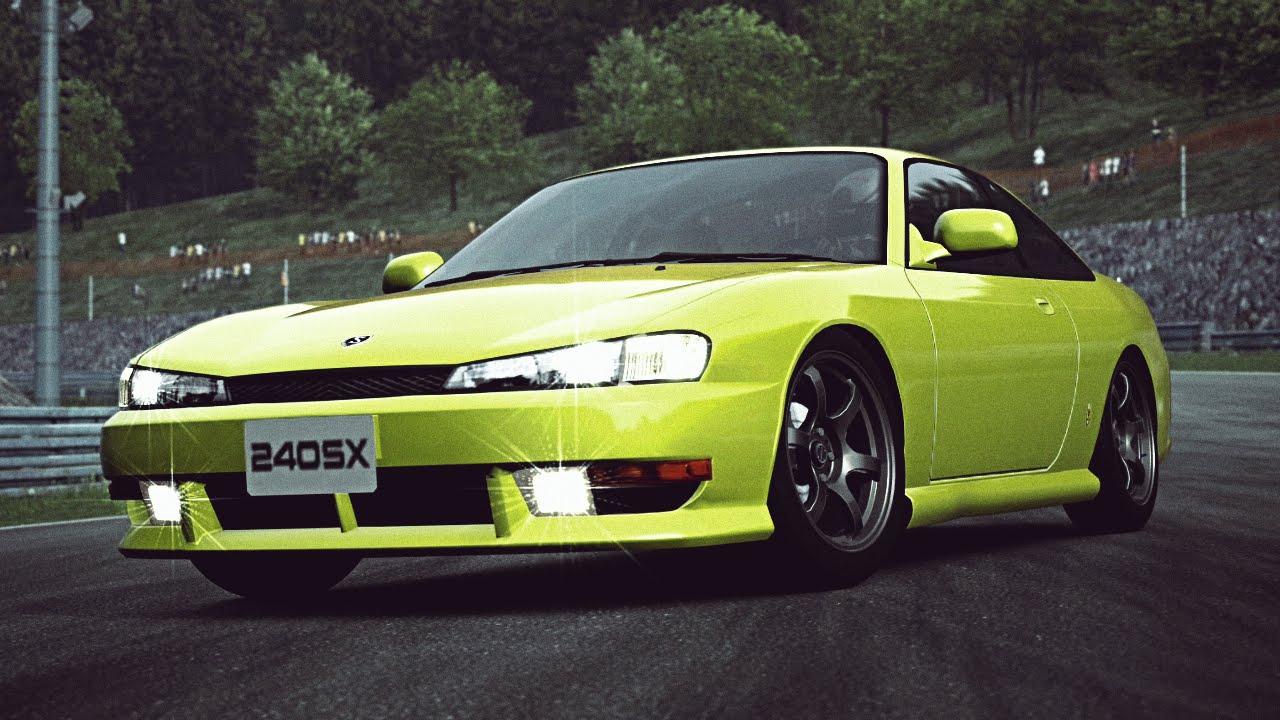 gt6 nissan 240sx s14 39 96 exhaust comparison youtube. Black Bedroom Furniture Sets. Home Design Ideas