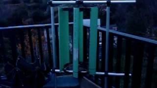 Homemade VAWT - Low Wind Test