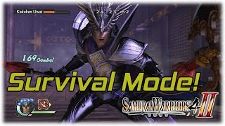 Samurai Warriors 4-II: Survival Mode with the Mighty Belial