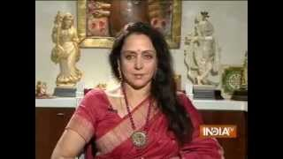 India TV Exclusive: Public Meeting with Hema Malini