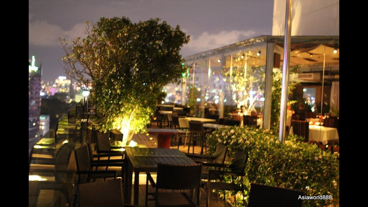 Rooftop shri saigon restaurant at night hd youtube for Watch terrace house