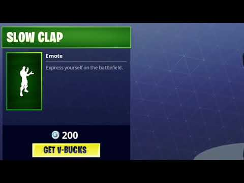 Slow Clap Sound (Fortnite Audio)