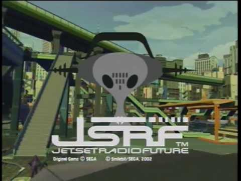 Jet Set Radio Future -- Title Screen (as played on Xbox 360)