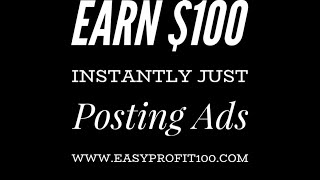 Earn Easy Commissions Online Today Copy and Paste Ads System Review 2019-Affiliate Marketing 2019