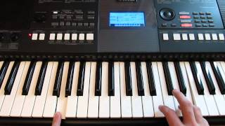 Yamaha PSR-E423. Основные настройки и фишки при игре. (by Toffa Alimoff)